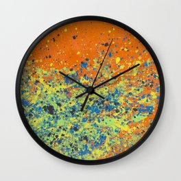 Contagion Wall Clock