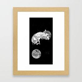 Dogs In Space Framed Art Print