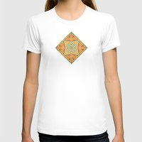 deco T-shirts featuring Deco abstraction by Steve W Schwartz Art