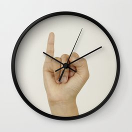 Evil Gift For Cheating X Boyfriend Wall Clock
