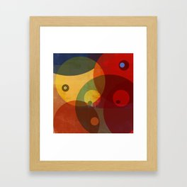 They watching you Now Framed Art Print