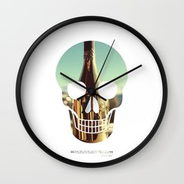 """""""Too much of anything is bad, but too much Champagne is just right"""" Wall Clock"""