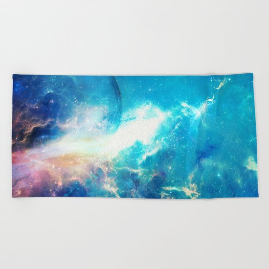 Stars Painter Beach Towel