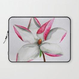 Watercolour Magnolia Laptop Sleeve