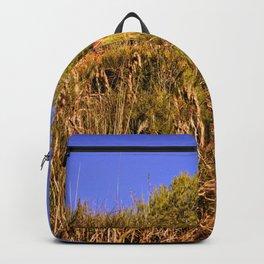Hot summer landscape Backpack