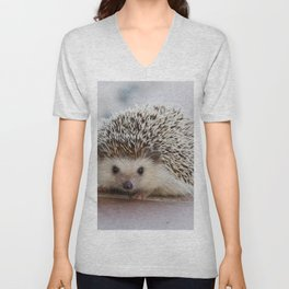 Hedgehog Unisex V-Neck