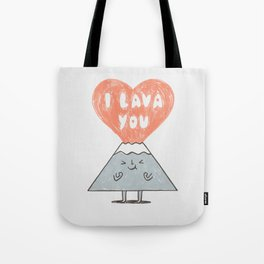 I Lava You 2 Tote Bag