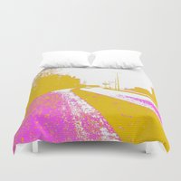 road Duvet Covers featuring Road by Mr & Mrs Quirynen