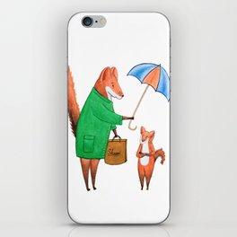 Fox friends iPhone Skin