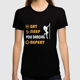Pole Dancing Graphic T-Shirt T-shirt