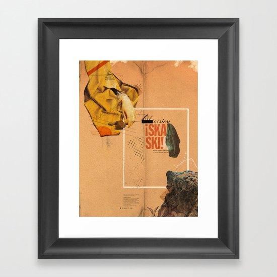 """Prescriptions and Placebos"" - Mixed Media 1 of 2 Framed Art Print"
