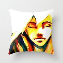 Glare Throw Pillow