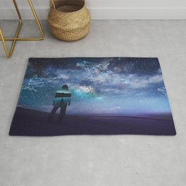 Constellation of the Dolphin by GEN Z Rug