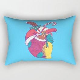 Christmas Heart Rectangular Pillow