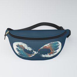 The Wave is forever Fanny Pack