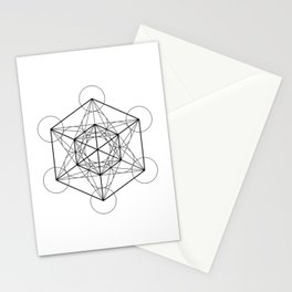 Metatron's Cube 2 Stationery Cards