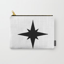 Black North Star Carry-All Pouch