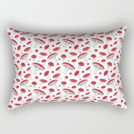 Amanita Mushrooms Rectangular Pillow