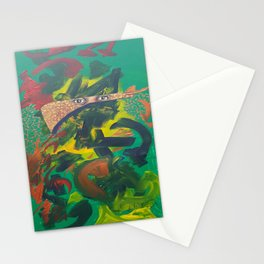 A poets mind Stationery Cards
