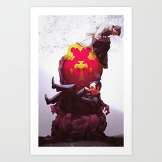 Kings of Heaven and Hell Art Print