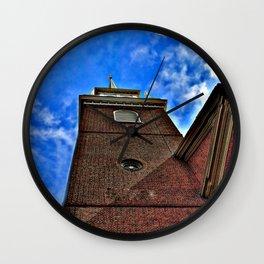 North Church 5 HDR Photography Wall Clock