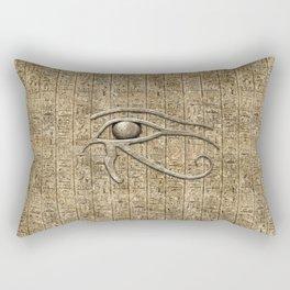Eye Of Ra Rectangular Pillow