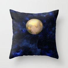 Hello Pluto! Throw Pillow