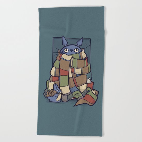 TotoWho Beach Towel