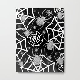 Spiders Metal Print