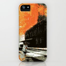 The Super-Human Condition iPhone Case