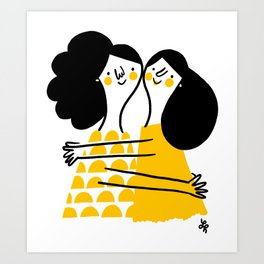 The Girls Art Print
