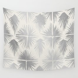 Radiate Silver Wall Tapestry