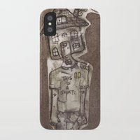 cartoons iPhone & iPod Cases featuring Saturday Morning Cartoons 1: Homebody by Kayleigh Morin