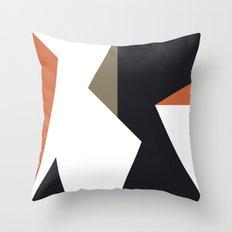 jigsaw feeling Throw Pillow
