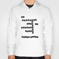 oscar wilde Hoodies featuring Be yourself - Oscar Wilde by James Thornton
