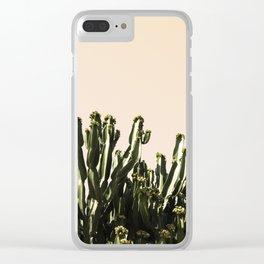 cactus nature x Clear iPhone Case