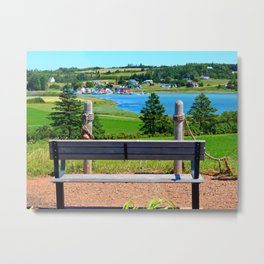 Peaceful Harbour Metal Print