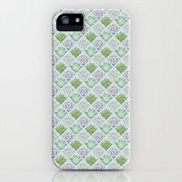 Echeveria pattern iPhone Case