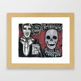 Sample! Framed Art Print