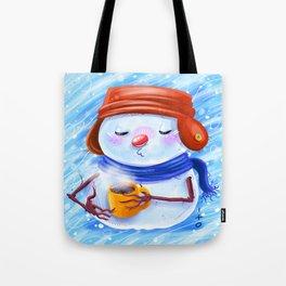 winter season Tote Bag