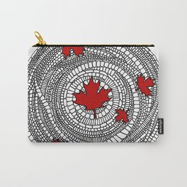 Canadian Maple Red Carry-All Pouch
