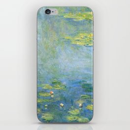 Water Lilies 1906 by Claude Monet iPhone Skin