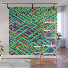 Misdirection - IV Wall Mural