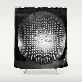 Explorer 24 Satellite Shower Curtain