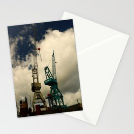 Harbor Crane Stationery Cards