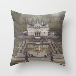 King Ludwig's little loft Throw Pillow