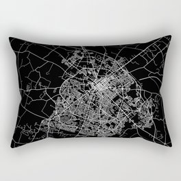 Lexington map Kentucky Rectangular Pillow