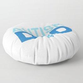 Autsim Dad Floor Pillow