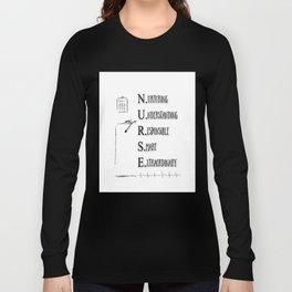 NURSE DEFINED Long Sleeve T-shirt