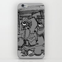 gnome iPhone & iPod Skins featuring Gnome by 5wingerone